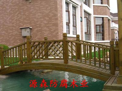 石家庄防腐木桥