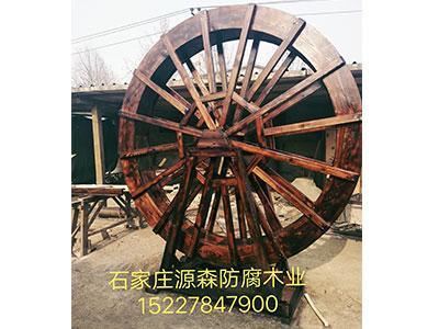 石家庄防腐木水车