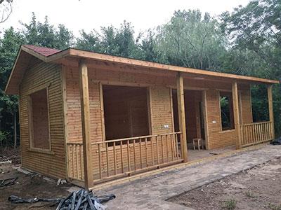 河北防腐木屋