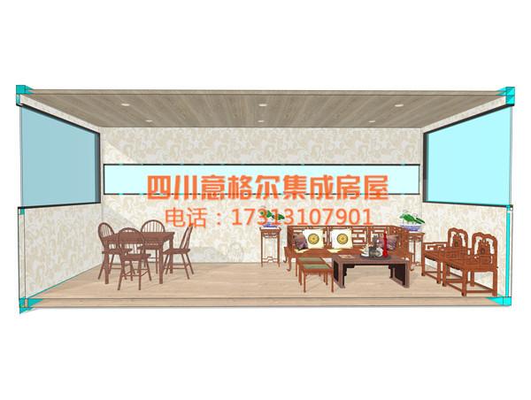 室内装修二楼茶室