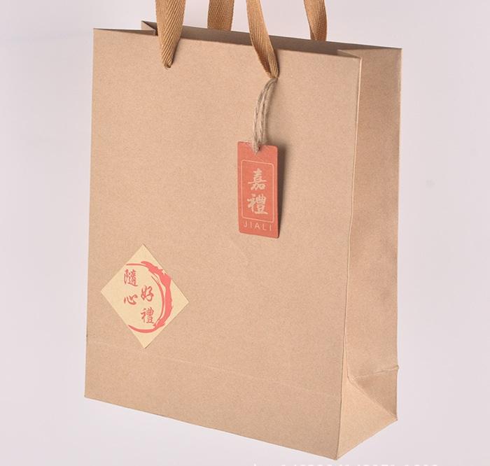 牛皮纸手提袋制作厂家
