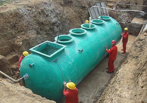 贵州玻璃钢一体污水处理设备