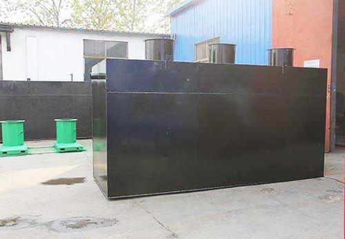 WSZ一体化地埋式生活污水处理设备