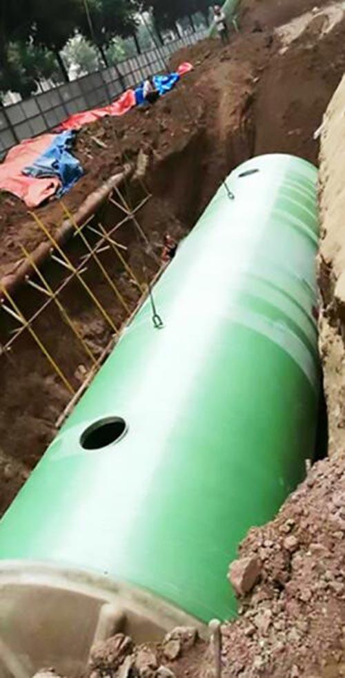 地理式玻璃钢一体化污水处理设备