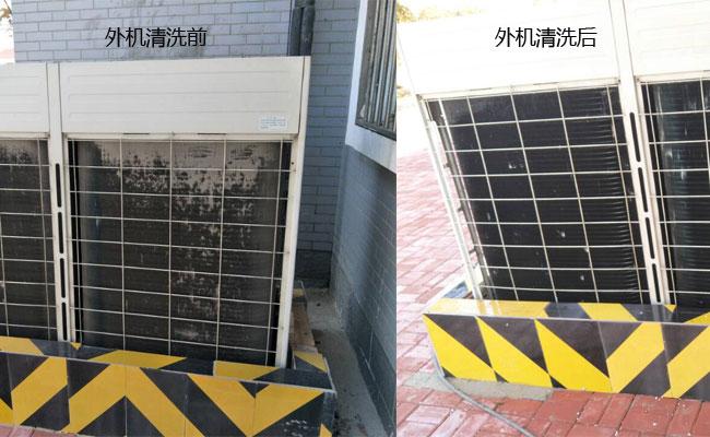 中央空调外机清洗