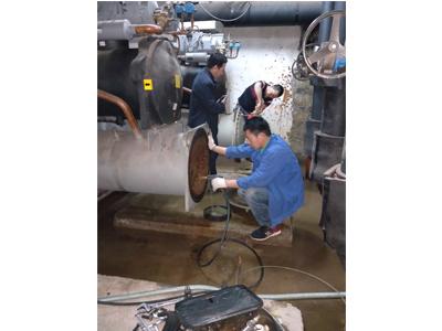 螺杆机清洗