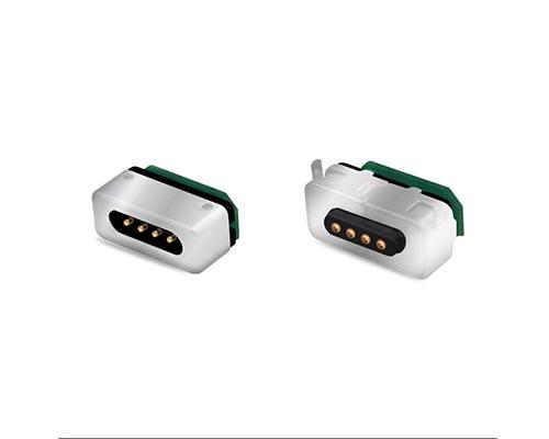 磁吸充电连接器