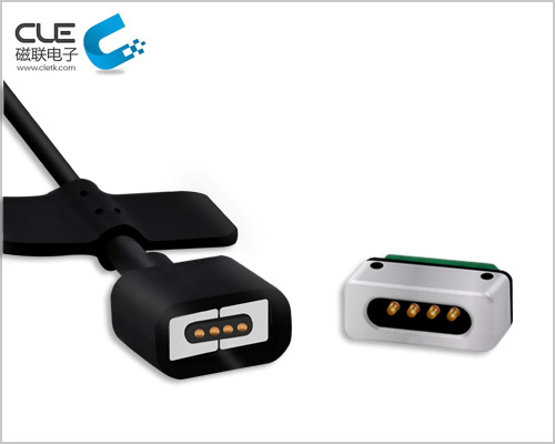 4pin智能磁吸线,磁铁充电线