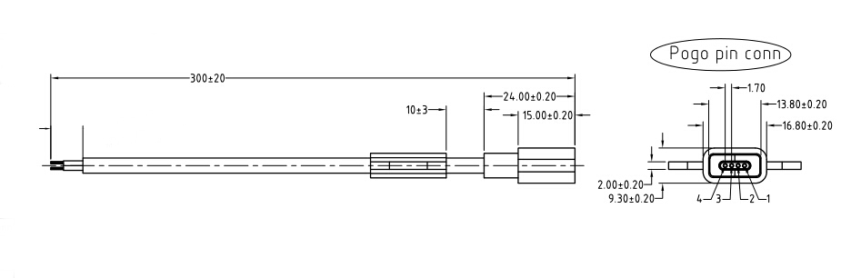 磁吸连接器规格书