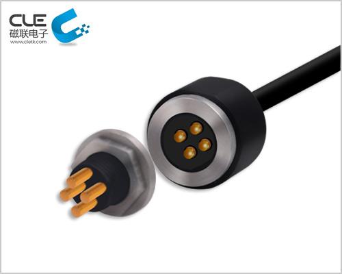 磁联大电流磁力接触充电线