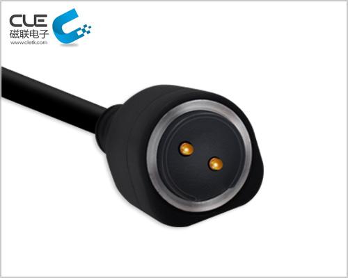 定制圆形方案磁吸式充电线