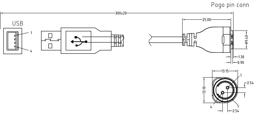 磁联磁吸充电线规格