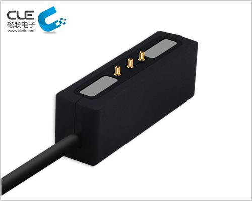 磁联电子研发3pin磁吸数据线