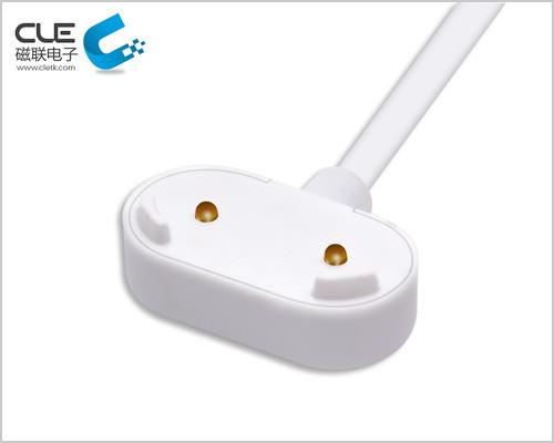 防水磁吸充电线 2PIN触点接头