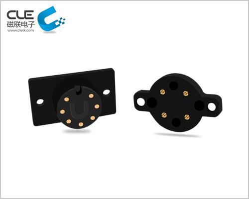 5pin磁吸插头 公母磁吸连接器