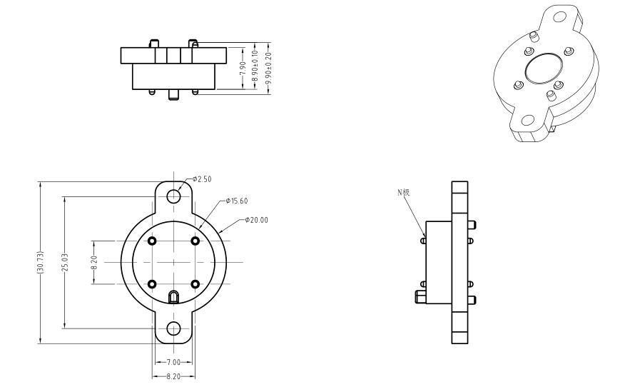 磁吸连接器规格