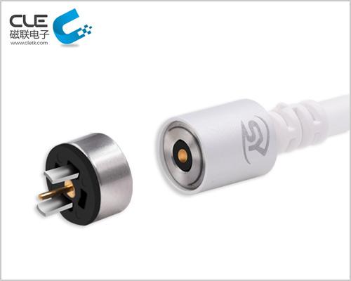 USB圆形磁吸充电线厂家定制