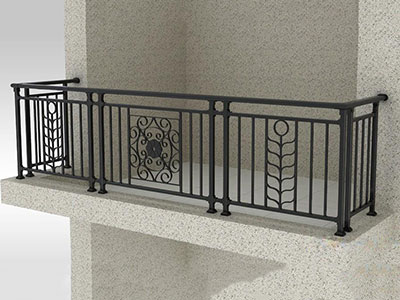 鋅鋼陽台欄杆