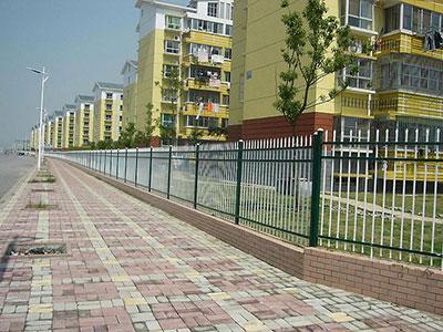 石家庄小区锌钢护栏