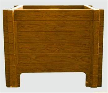 成都仿木花箱厂家