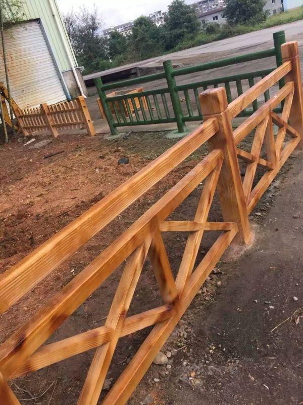 成都专业仿木栏杆