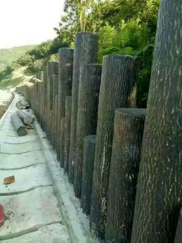 成都仿木护栏