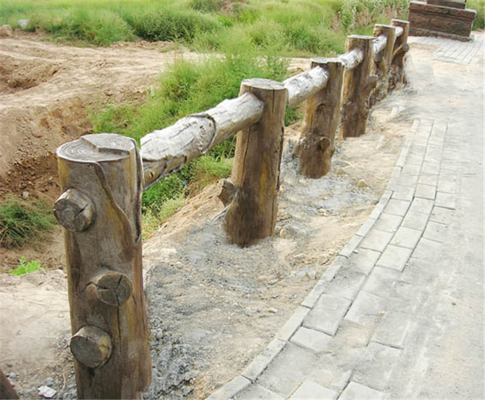 成都仿木栏杆制作