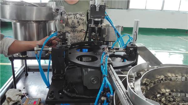成都自动化接线柱组装机