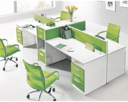 屏风卡位办公桌