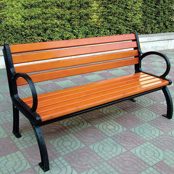 铸铁脚休闲椅