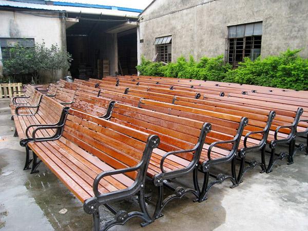 园区休闲椅