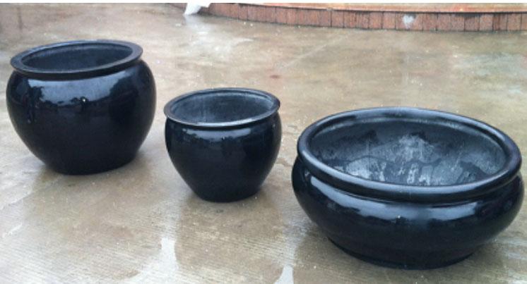 园林陶瓷花盆