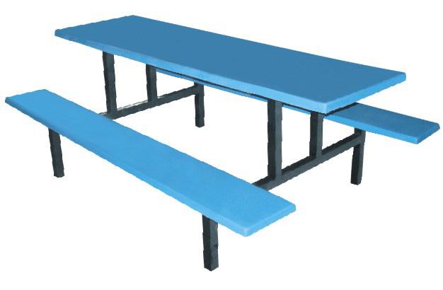 一体餐桌椅