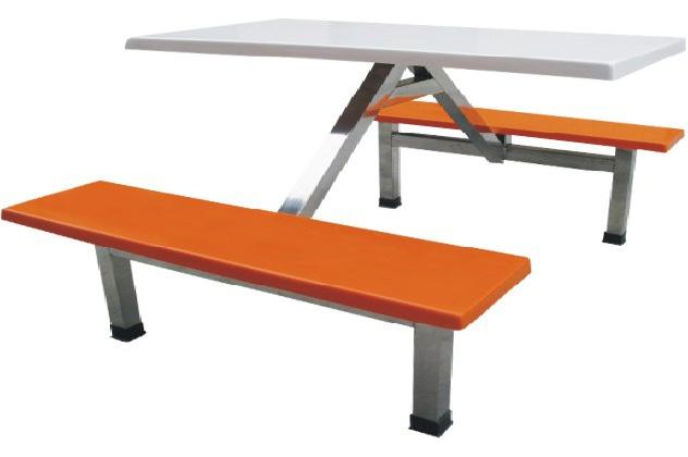 鋼木餐桌椅