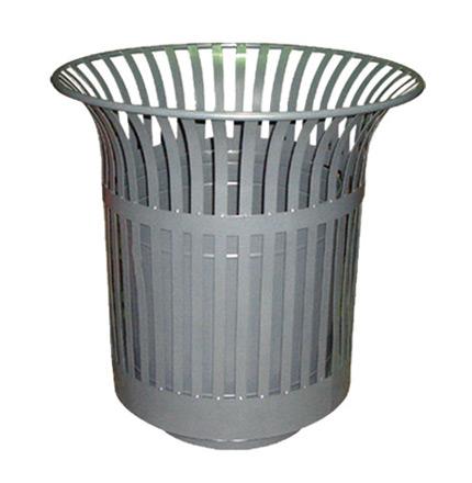 铁板垃圾桶