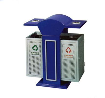 分类铁板垃圾桶