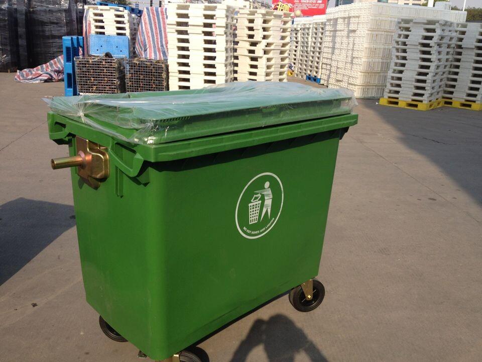 600L塑料垃圾桶