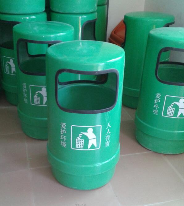 玻璃钢环保垃圾桶