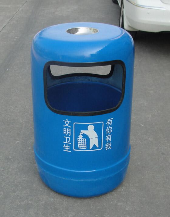 户外玻璃钢垃圾桶