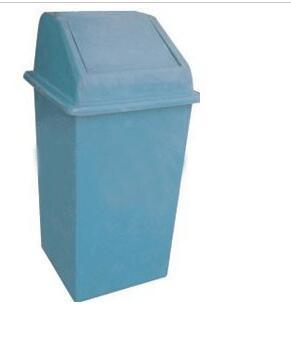 塑料摇盖垃圾桶