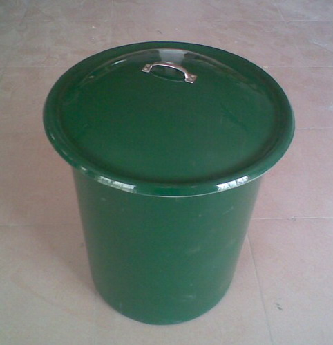 市政玻璃钢垃圾桶