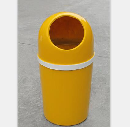 带盖玻璃钢垃圾桶