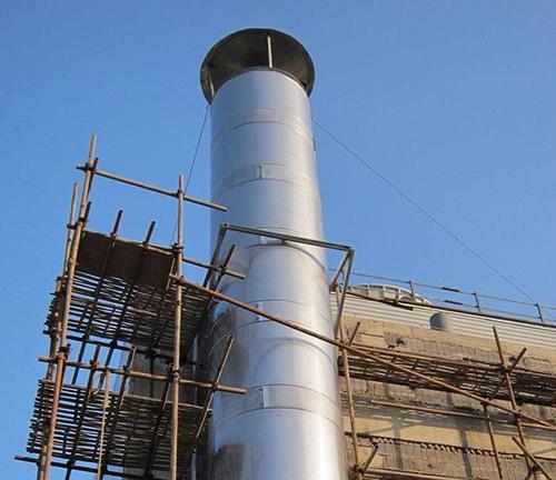 预制式不锈钢烟囱