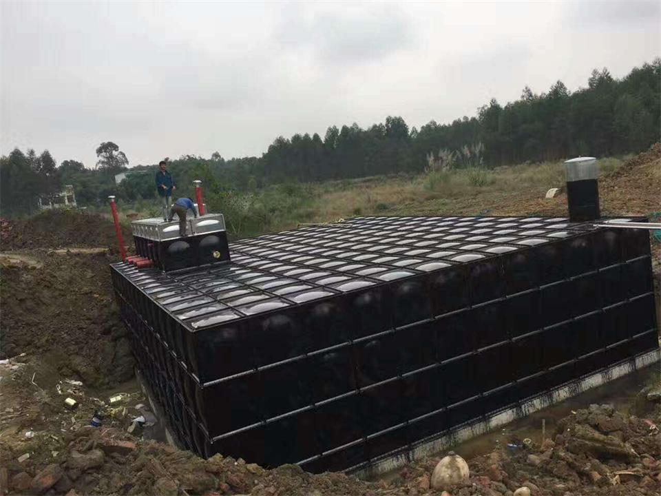 安�BDF地埋式箱泵一�w化水箱