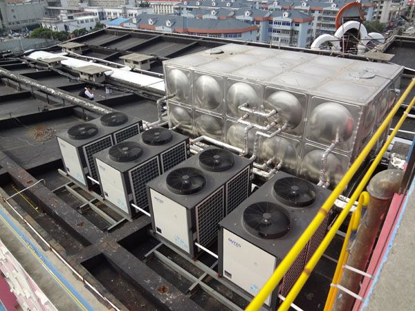 贵阳贵州酒店宾馆空气能热水工程