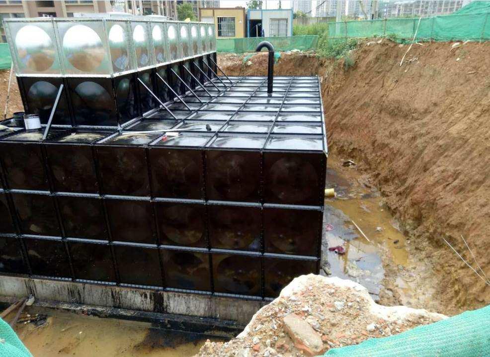 �d�x地埋式水箱