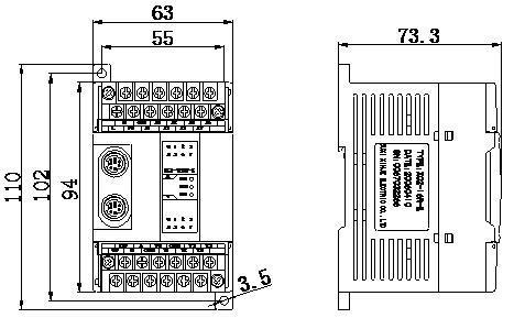 信捷PLC XC2-14RTRT-EC外观