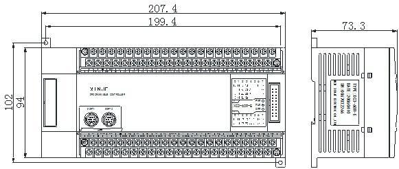 信捷PLC XC2-60RTRT-EC