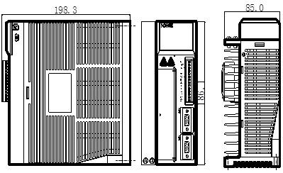 信捷伺服DS2-22P3-AS2外观