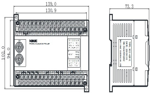 信捷plc可编程控制器XC3-42RTRT-EC